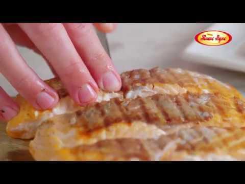 Жито Лукс рецепт – Лосос со интегрален леб